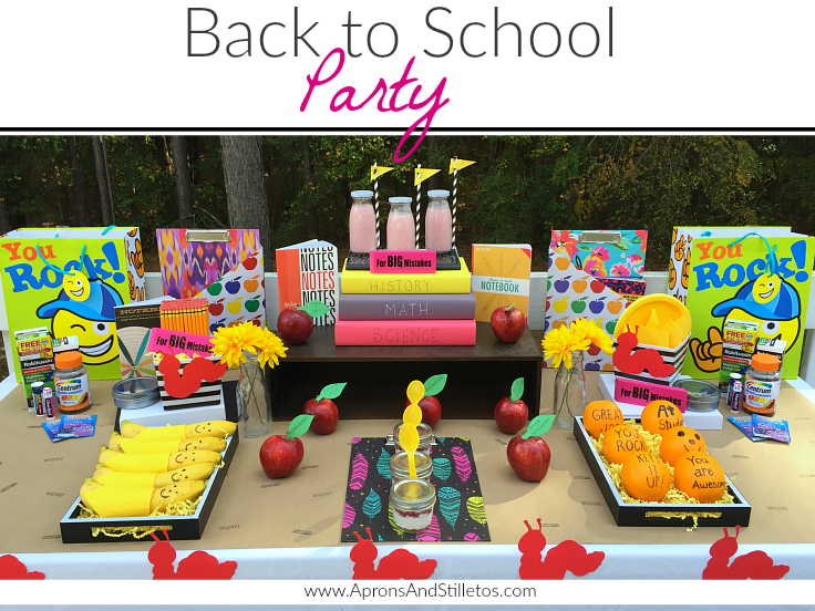 Back To School Party How To Plan And Decorate