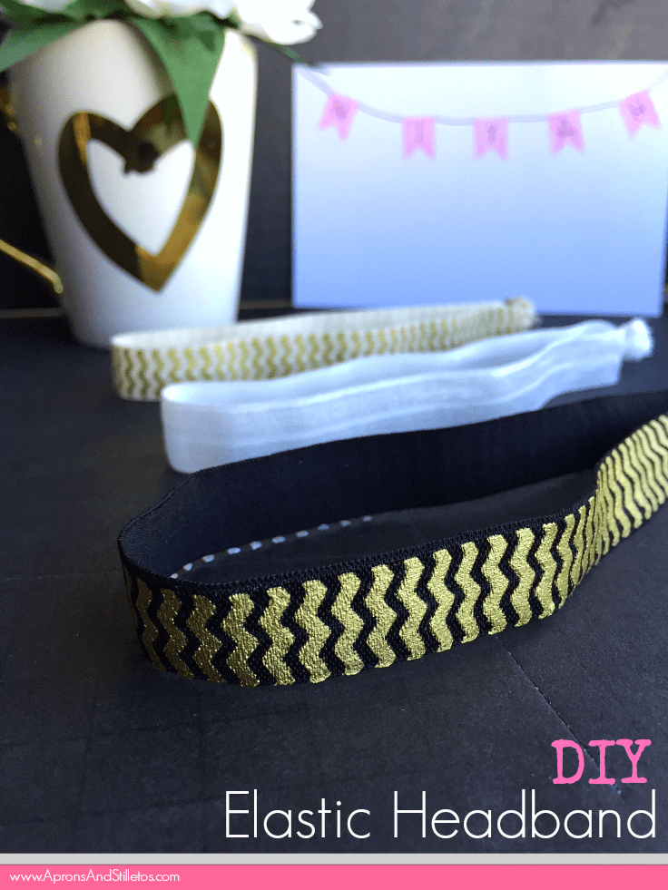 DIY Elastic Headbands #WhatMonthlyPain