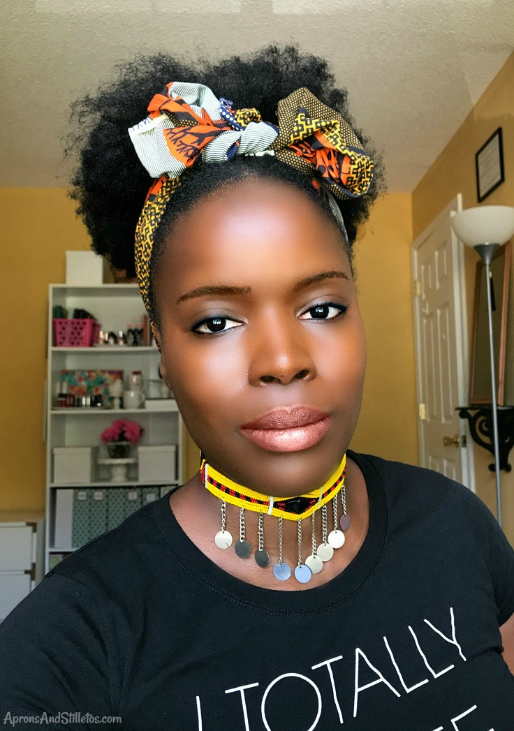 How to | High Puff with Tribal Headband