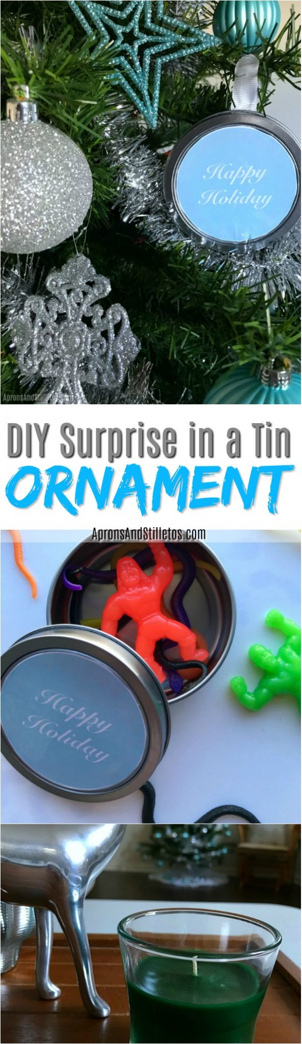 DIY Surprise in a Tin Ornament