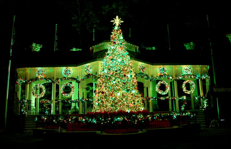 Holiday in the Park® at Six Flags Over Georgia