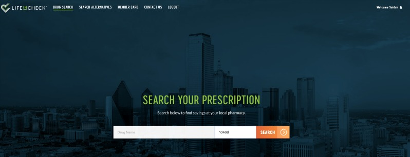 LifeInCheck® is prescription drug plan