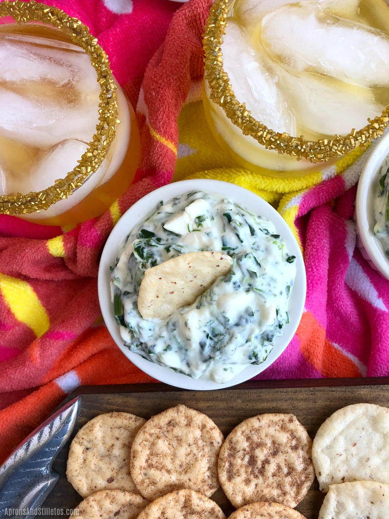 15 Minute Spinach Dip
