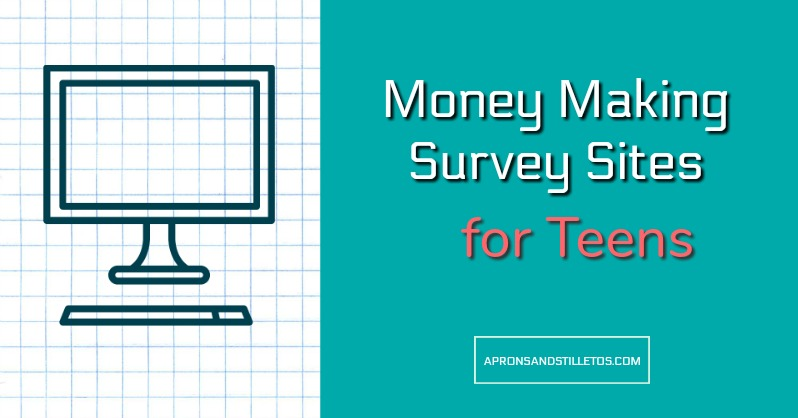 Money Making Survey Sites for Teens