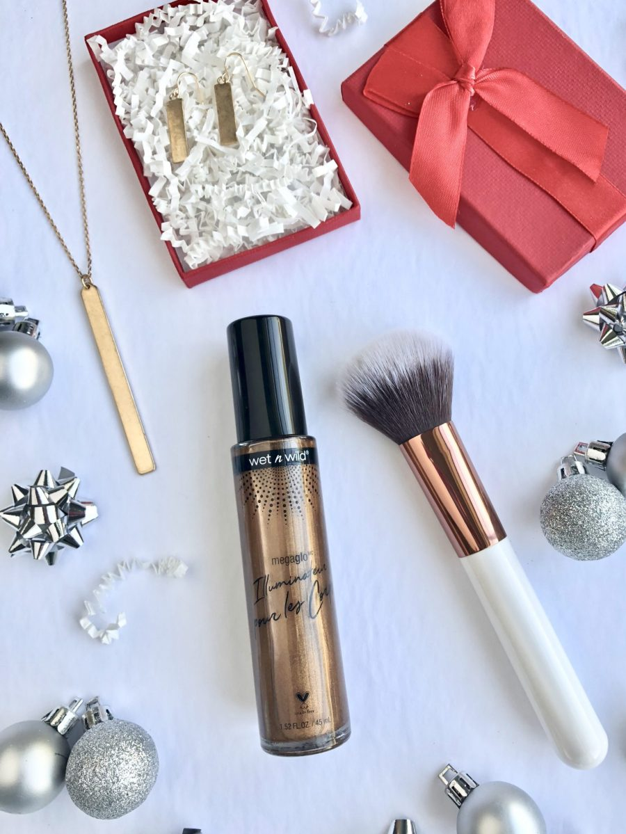 5-Minute Holiday Glow using wet n wild M