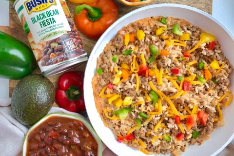 One Pot Turkey Fiesta Rice