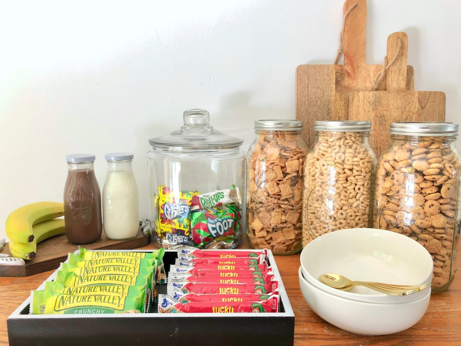 How I Prep Our Serve Yourself Summer Breakfast Bar