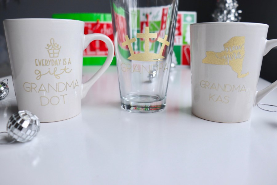Easy DIY Personalized Drinkware using the Mint Cricut Explore Air 2