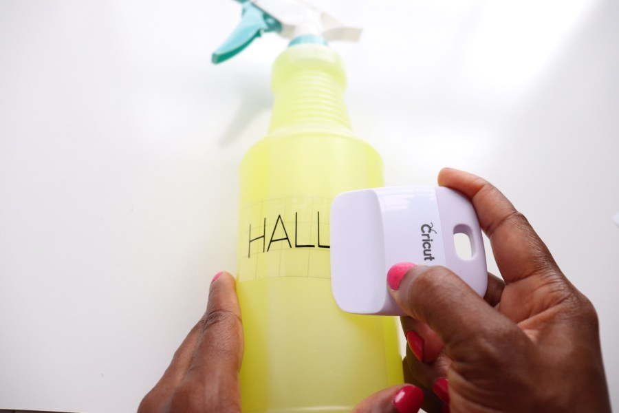DIY Cleaning Bottle Labels