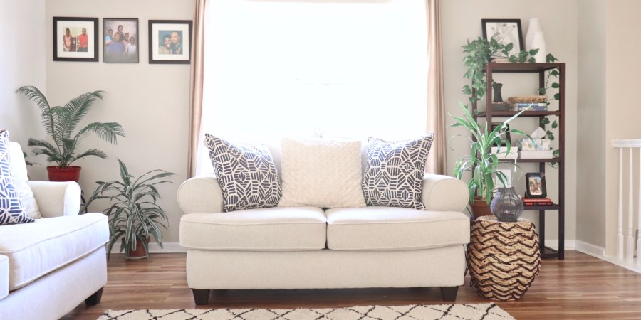 Full Living Room Makeover
