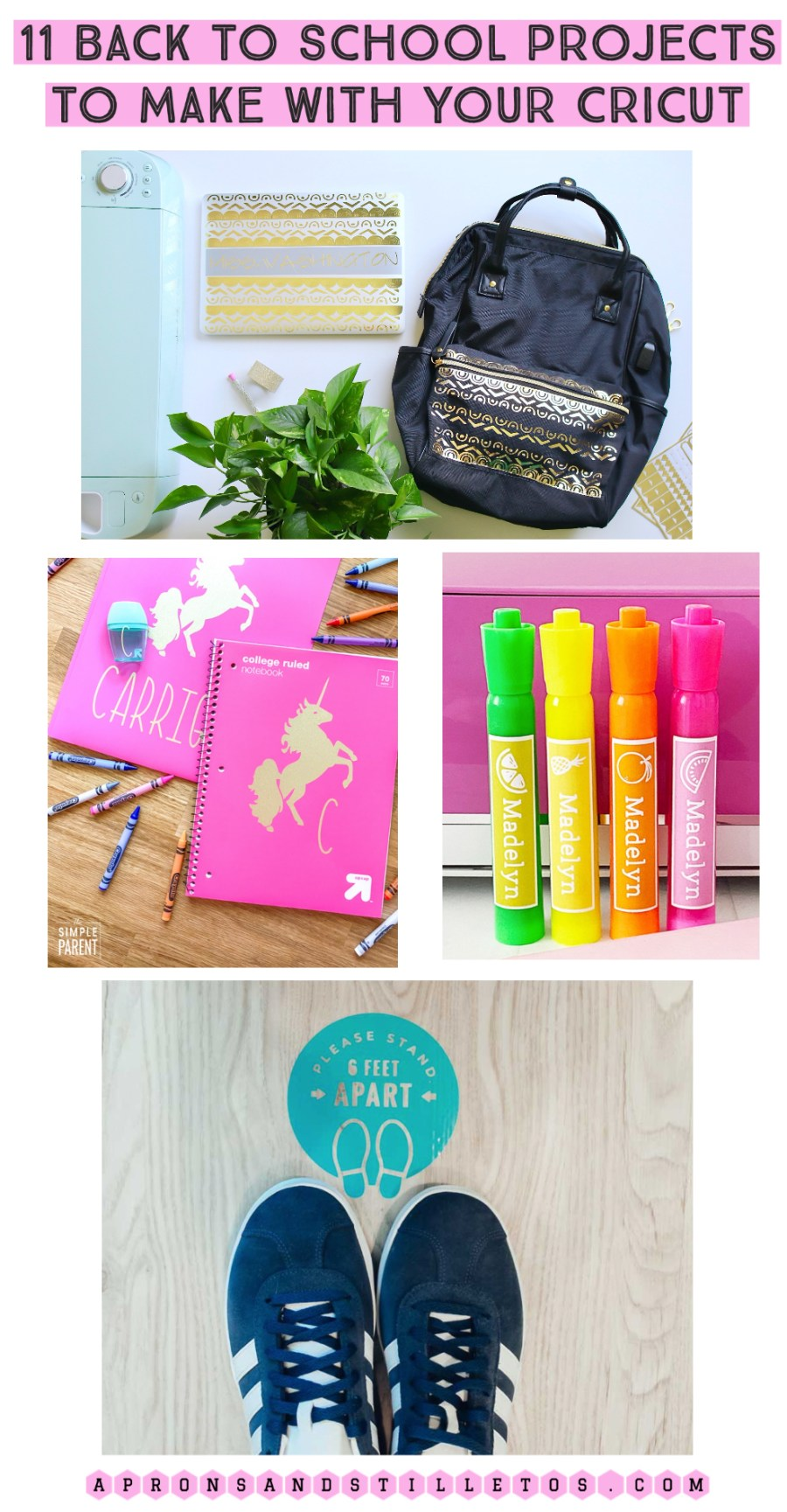11 Back to School Projects to Make With Your Cricut