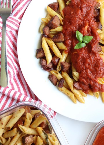 How To Make An Easy One Pot Sausage And Penne Skillet