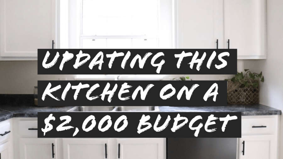 How to Make an Ugly Kitchen Beautiful for Less Than $2,000