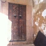 Sidi Bou Said Tür mit Nieten