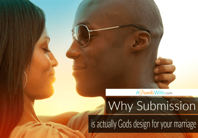 Why Submission is Actually God's design for you