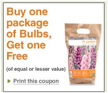 Here are your Home Depot Garden Club Coupons