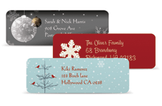Free Personalized Holiday Gift Labels