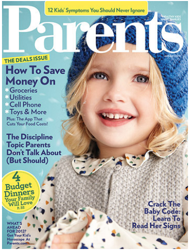 Parents Magazine 1-Year Subscription $3.75 (.31¢ an Issue) | Ends 12/23 at Midnight