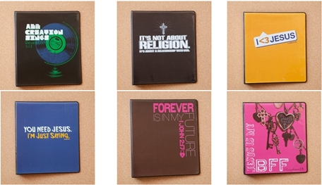 DaySpring: Christian Binders only $2.99 each (+shipping) with 25% off Promo Code