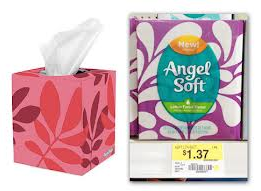 Angel Soft Lotion facial tissue ONLY $0.62 each!! (Reg. $1.37)