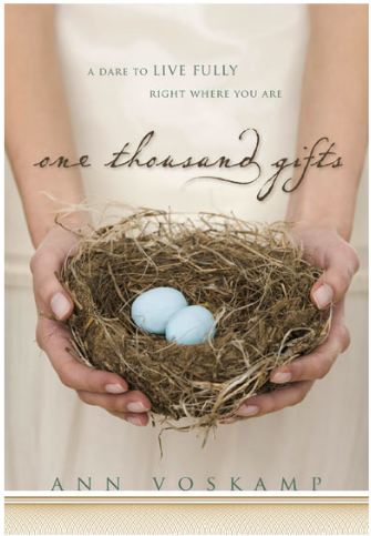 Winner of One Thousand Gifts by Ann Voskamp
