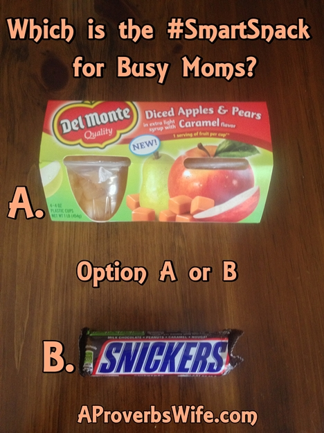 Del Monte Fruit Cups | the #SmartSnack for Busy Moms