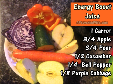 Juicing: Energy Boost Juice