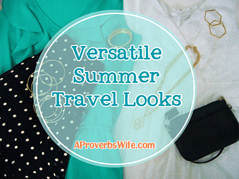 Versatile Summer Travel Looks
