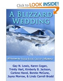 a blizzard wedding