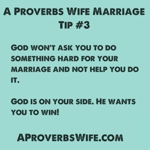 Marriage Tip #3: Give it All