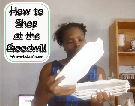 How to Shop at the Goodwill