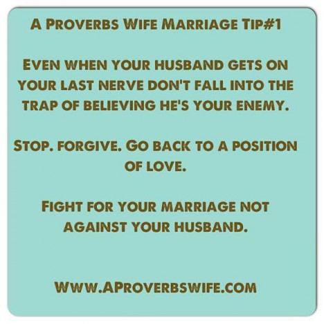 Marriage Tip #1: Know Your Enemy