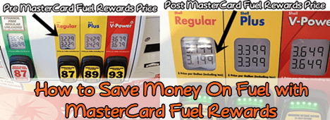 How to Save Money On Fuel with MasterCard Fuel Rewards