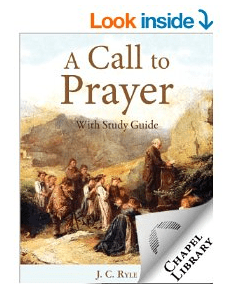 FREE Christian eBook: A Call to Prayer by J.C. Ryle (Free One-Week Devotional)