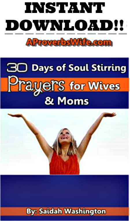 30 Days of Soul Stirring Prayers for Wives and Moms | Promo Code