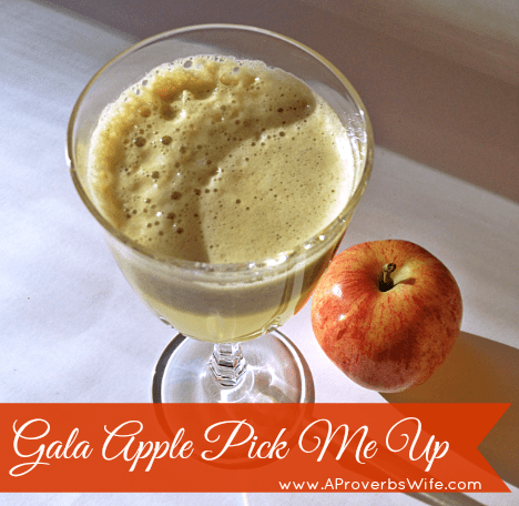 Juicing Recipes | Gala Apple Pick Me Up