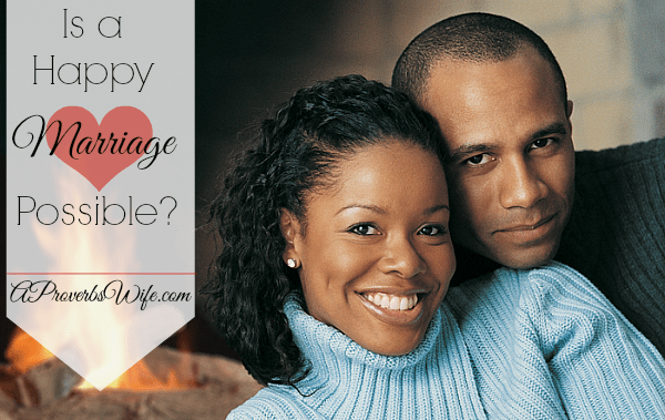 Is a Happy Marriage Possible?