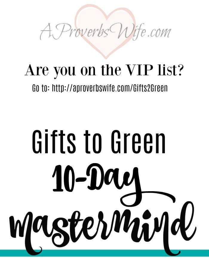 Gifts to Green 10 Day Masterclass