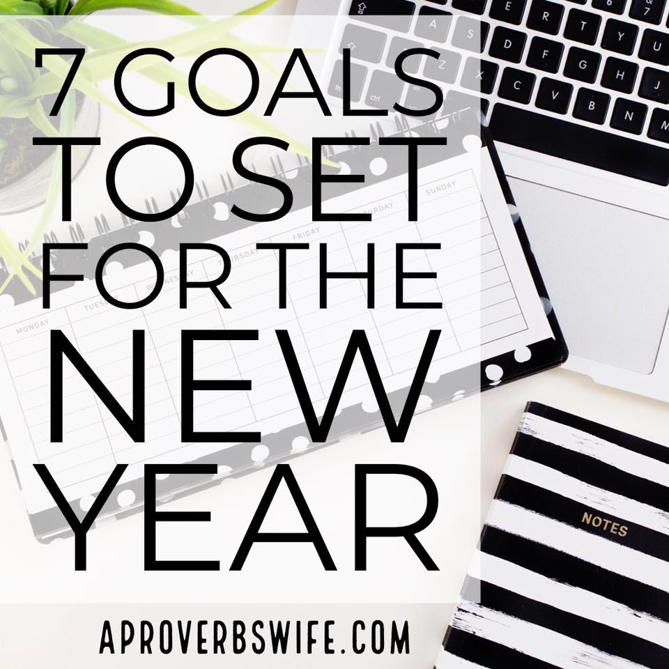 How to Set Your Top 7 Annual Goals
