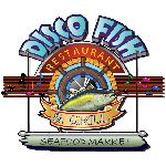 Disco Fish Restaurant Logo