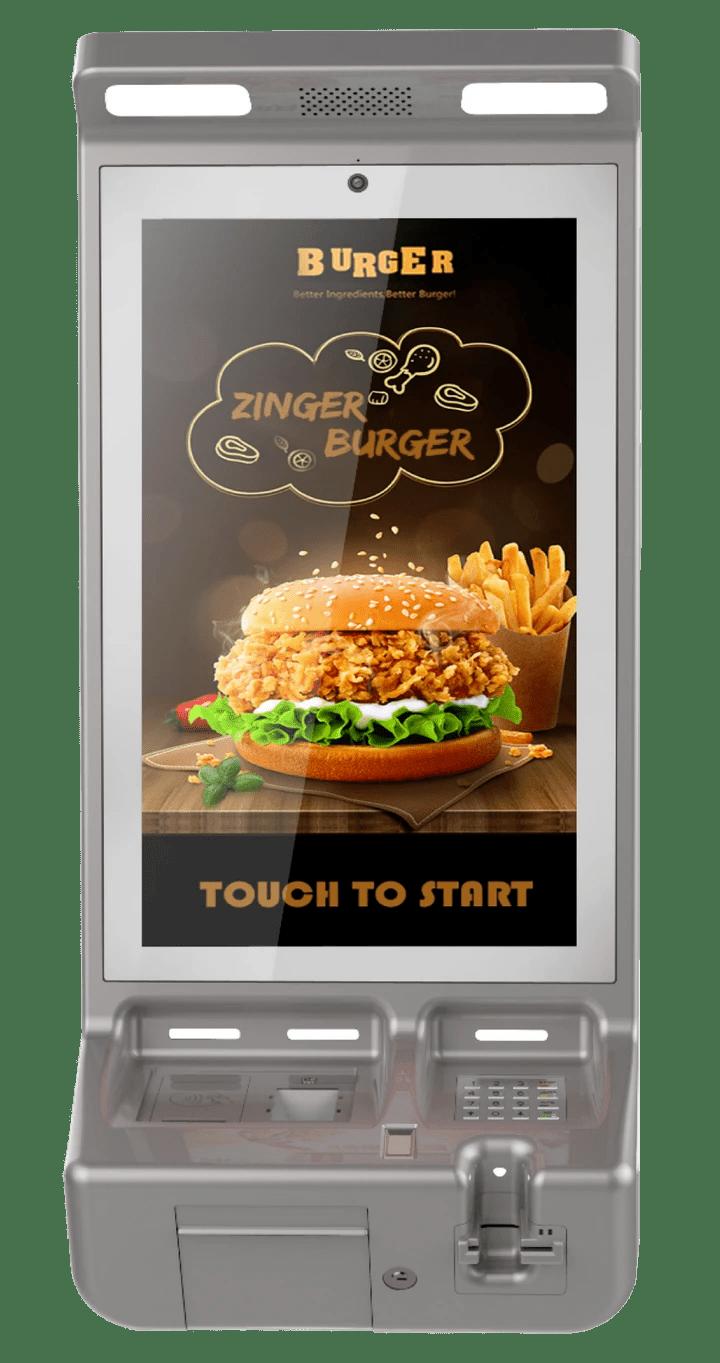 Kiosk: Self-ordering Kiosk