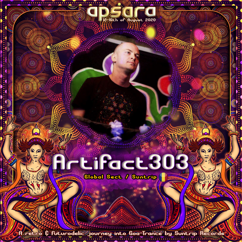 Apsara is in Romania, here is Artifact303 !