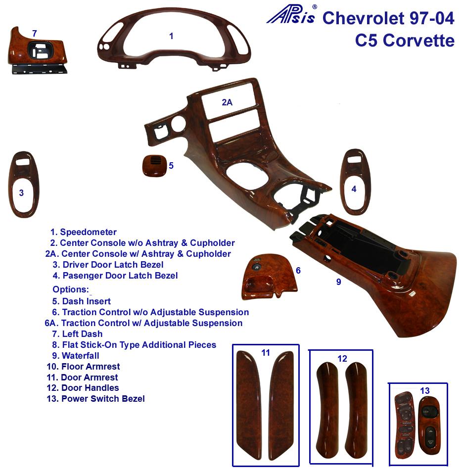 hight resolution of c5 burlwood parts