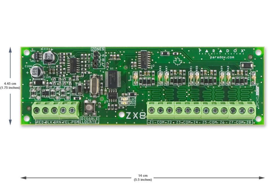 PARADOX praplėtėjas SP-ZX8