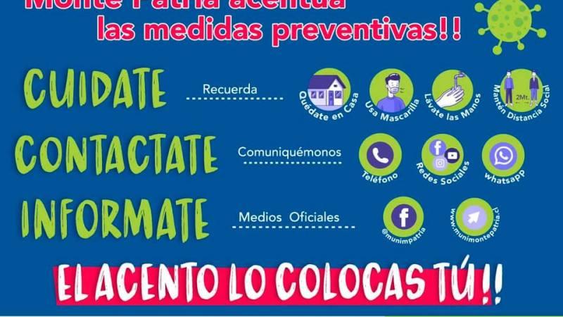 Monte Patria acentúa las medidas preventivas frente al COVID-19
