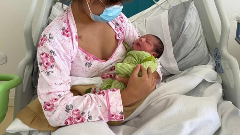 Monte Patria saluda la vida nueva: el primer bebe nacido en la región de Coquimbo este año 2021
