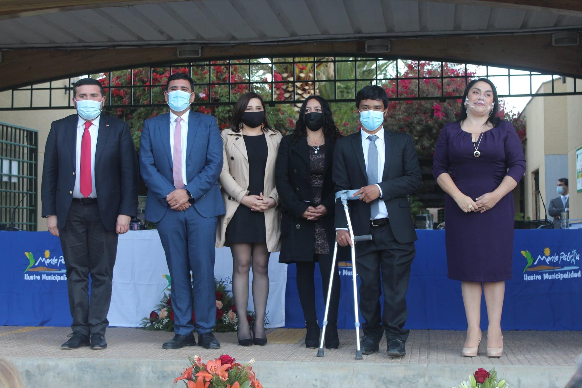 Cristian Herrera asume como Alcalde de la Comuna de Monte Patria