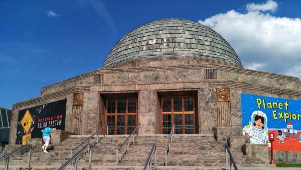 Destination Solar System Adler Planetarium In Chicago Australasian Society