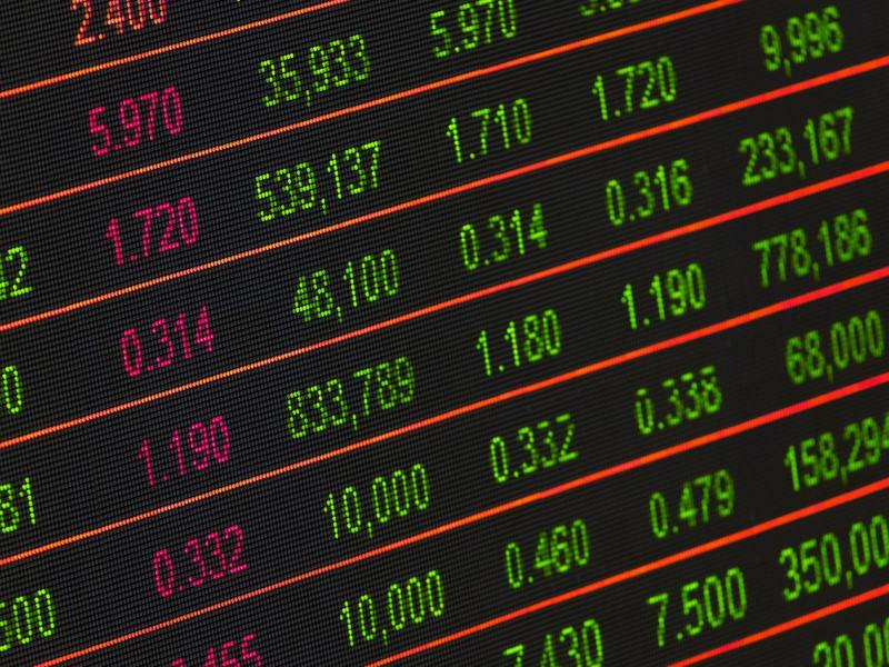 What we might consider a refined form of oeconomica: the stock ticker