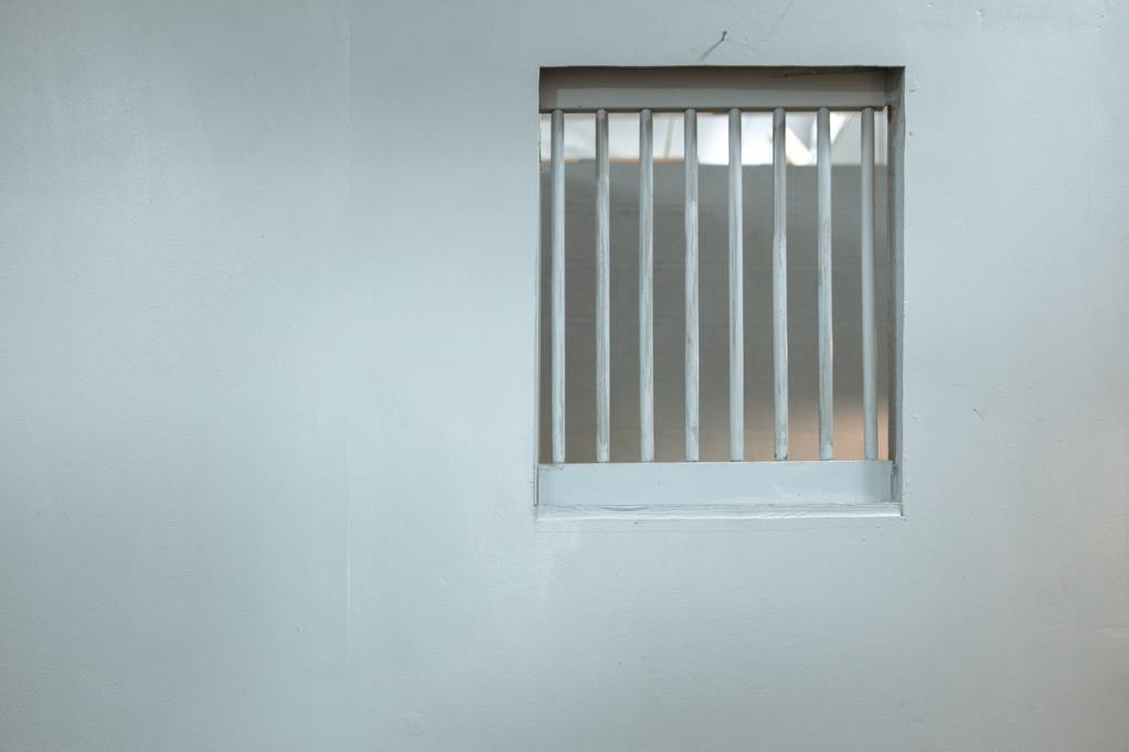 A representation of the confined living conditions over which the visitor is required to lord